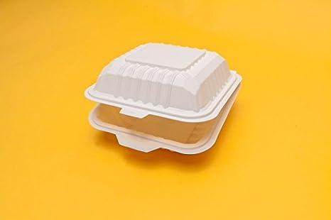 Cajas de hamburguesa de color blanco (caja de 500), hechas ...