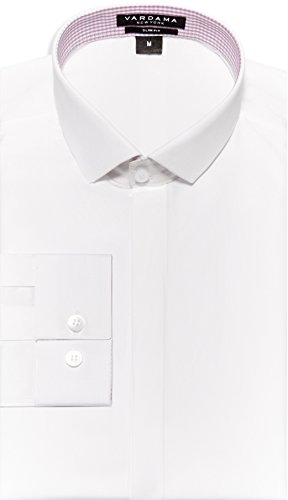 Vardama Men's Stain Resistant & Spill Repellent Ludlow Shirt (Large) by Vardama