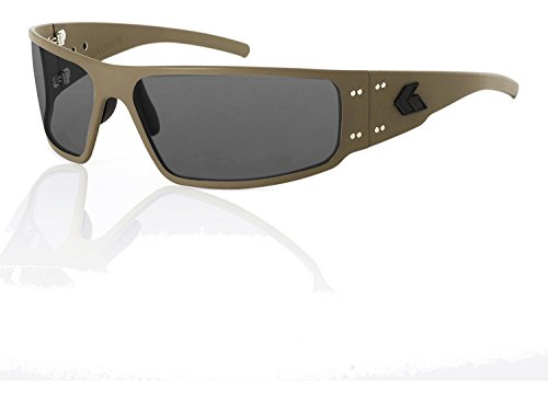 Gatorz Cerakote Magnum Military Tan Smoked Lenses Non-polarized - Sunglasses Cerakote