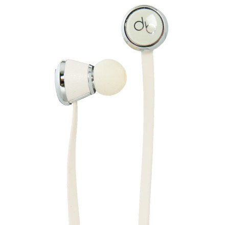 Diddybeats High Performance Cream In-ear Headphones with ControlTalk (Discontinued by Manufacturer)