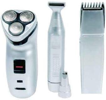 ICARUS - Kit Cuidado Personal Afeitadora de Alta Precisión para hombre 4 en 1: Amazon.es: Salud y cuidado personal