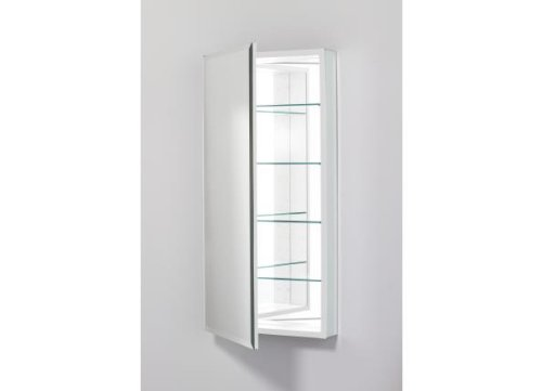 Robern PLM2040WBRE PL Series 19 1/4-Inch Wide by 39 3/8-Inch High Righ-Hinge Flat Beveled Mirrored Door, Plain by Robern