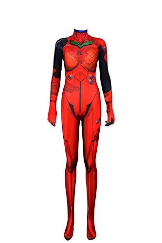 Women's EVA Asuka Bodysuit Neon Genesis Evangelion