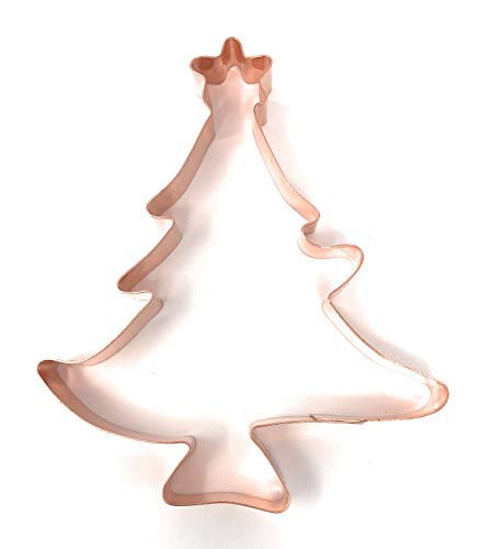 Large Christmas Tree with Star Cookie Cutter