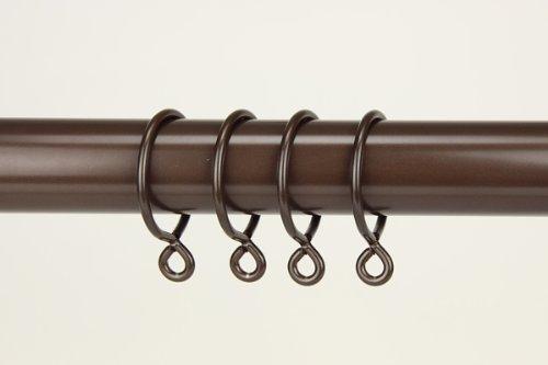 UPC 837654926482, A&F Rod Décor - 10 Curtain Eyelet Rings 1-3/4 inch Cocoa