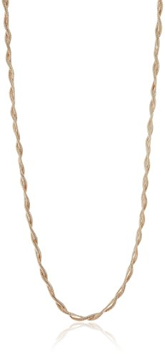 Accessorize Chain Necklace for Women (Rose Gold)(MN-18267582001)