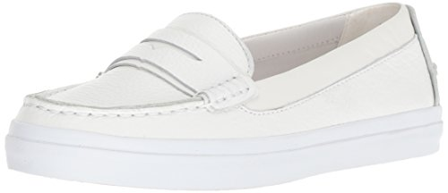 Cole Haan Women's Pinch Weekender LX Loafer Flat Optic White Tumbled Leather/op 8.5 B US