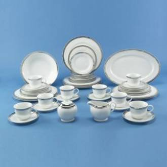 Royal Doulton Pure Platinum Dinner Plate