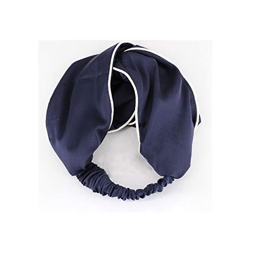 1PC Women Girls Hair Band Elastic Headbands Side Satin Fabric Hair Bands Cross Knot Turban -
