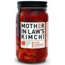 Mother In Laws Kimchi Vegan Napa Cabbage Kimchi, 16 Fluid Ounce - 6 per case.