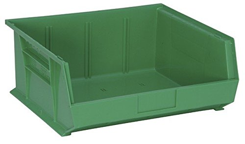 Quantum Storage QUS250GN Ultra Stack & Hang Bin44; Green - 14.75 x 16.5 x 7 in. ()