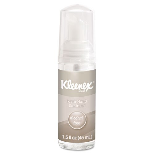 KIMBERLY-CLARK PROFESSIONAL* - KLEENEX Alcohol-Free Foam Hand Sanitizer, 1.5oz, Clear 34136EA (DMi EA