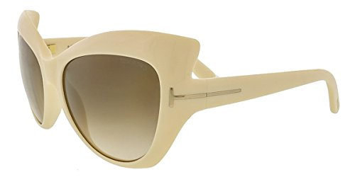 Tom Ford Women's Bardot Cat Eye Ivory Sunglasses