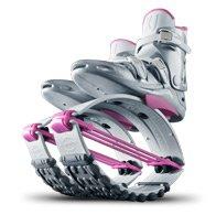 Kangoo Jumps XR3 White Edition (White & Pink, Medium)