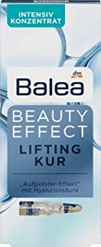- 6er Pack Balea Beauty Effect Lifting Treatment Ampoules With Hyaluronic Acid 6 x 7 x 1 ml