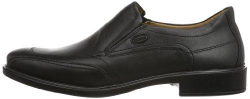 Jomos Classic 2 206206-23-000 - Zapatos de cuero para hombre, color negro, talla 39 Negro (Schwarz (Schwarz))