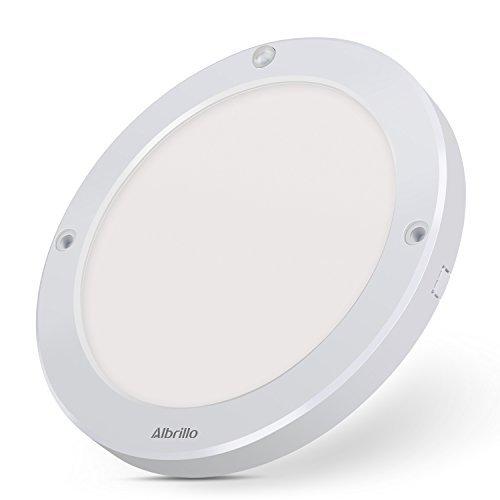 Albrillo LED Flush Mount Ceiling Light Motion Sensing, 100 Watt Equivalent, 1200 Lumen, Daylight White 4000K