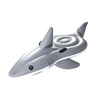 WXHYBB Hamaca de Agua 100 Caballero Tiburón Inflable Gigante ...