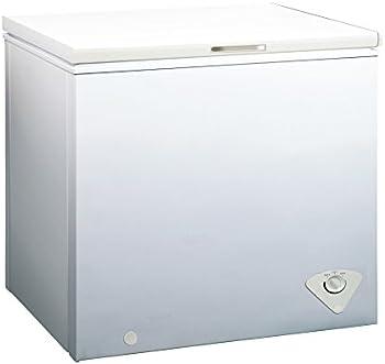 Midea WHS-258C1 Single Door 7.0 Cubic Feet Chest Freezer (White)