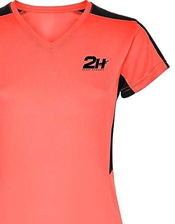 Camiseta pádel y Tenis Mujer 2H VIXIA: Amazon.es: Deportes y ...