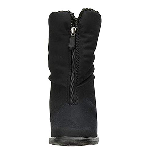 Black Winter Boot Warmers Michelle Toe 0wITgY