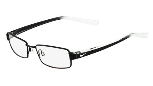 Nike Eyeglasses 8065 002 Black / Crystal Demo 51 17 145