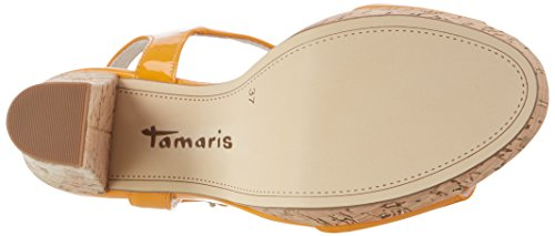 Orange Orange Femme Tongs 607 28002 Tamaris Patent wUaqfBfx4
