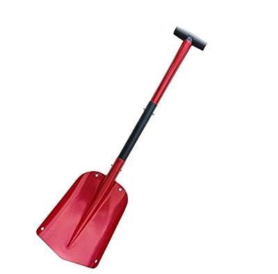 Fasmov Aluminum Sport Utility Shovel Portable Camping Snow Shovel for Car