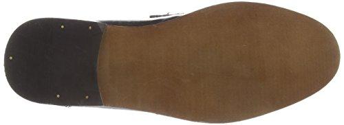 Red Tape Slaney - Zapatos sin cordones de otra piel hombre negro - negro