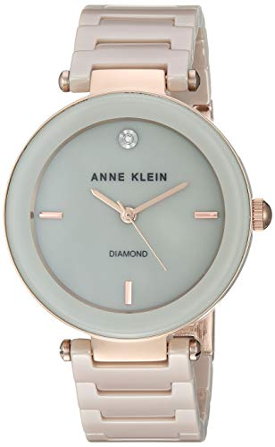 (Anne Klein Dress Watch (Model: AK/1018RGTN))