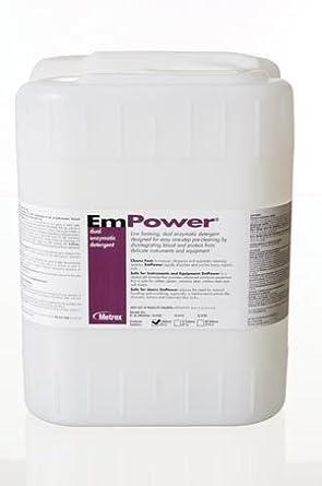 Metrex 10-4150 EmPower - Detergente de doble enzima, capacidad de 5 ...