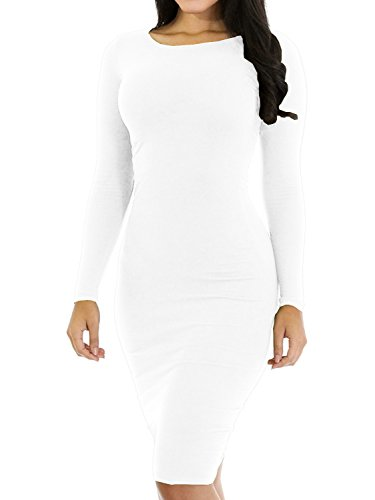 junior dress in white - 8