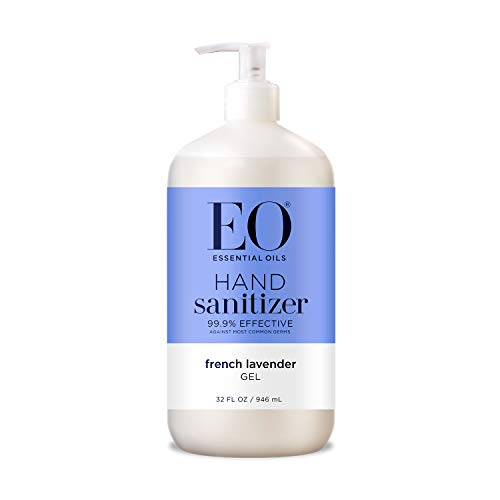 EO Botanical Hand Sanitizer Gel, Lavender, 32 Ounce from EO
