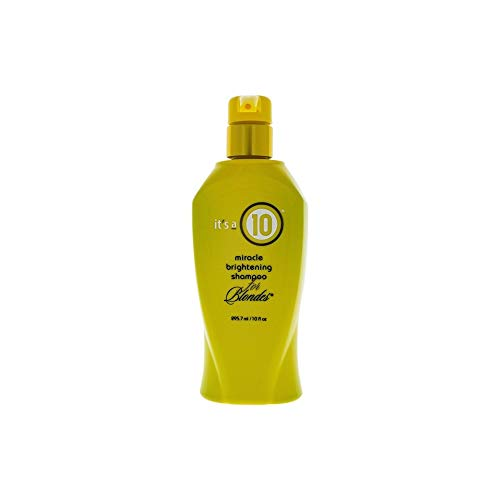 - It's A 10 Miracle Brightening Shampoo for Blondes, 10 Ounce