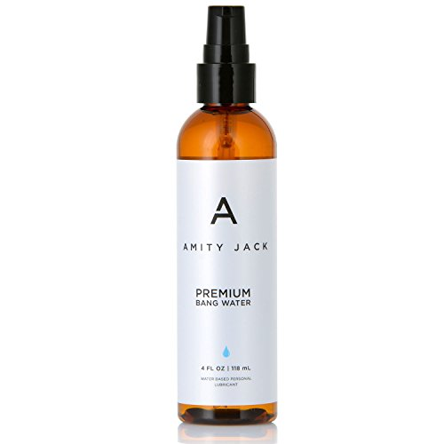Personal Lubricant ~ Premium BANG Water ~ Silky, Stainless & Odorless Water-based Formula. Formulated to Work Extra Hard With Toys and Condoms by Amity Jack
