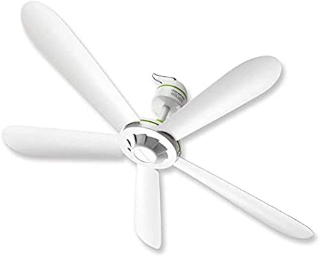 Knoijijuo Ventilador Ventilador De Techo 35 Pulgadas, ABS Plástico Ventilador De Techo Y Sin, Ventilador Silencioso De Luz Blanca, Cocina Habitación Interior