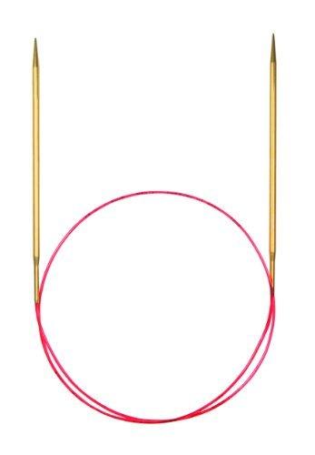 - addi Turbo Lace Circular 47-inch (120cm) Knitting Needle; Size US 02 (3.00 mm) by addi