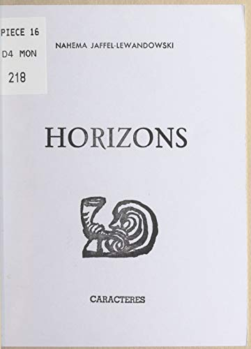 Horizons (French Edition) for sale  Delivered anywhere in USA
