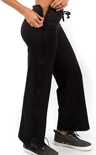 Reboundwear Women's Molly Pants - Post Surgery Clothing Adaptive Apparel