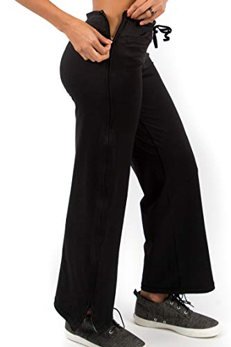 Reboundwear Women's Molly Pants - Post Surgery Clothing Adaptive Apparel