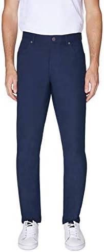 メンズ フェアウェイ パフォーマンス 5ポケット ゴルフパンツ US サイズ: 33 カラー: ブルー