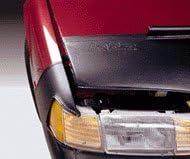 Car Mask Bra Lebra 2 piece Front End Cover Black Fits TOYOTA,RAV4,2001 thru 2003