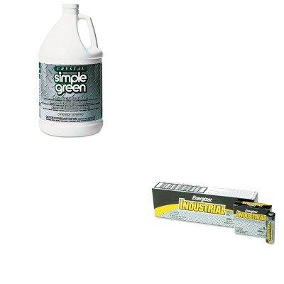 KITEVEEN91SPG19128 - Value Kit - Simple Green All-Purpose Industrial Cleaner/Degreaser (SPG19128) and Energizer Industrial Alkaline Batteries (EVEEN91)
