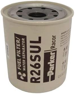Racor R26S Diesel Fuel Filter Element  2 Micron For 225R Series Filter