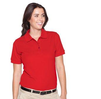 Ladies' 7.0 oz. Premium Pique Knit Sport Shirts - By Fashion Destination