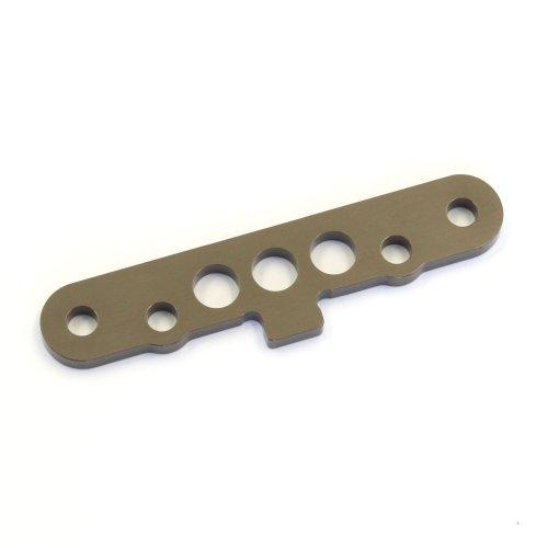 - Kyosho RR Evo SP Front Lower Suspension Plate, Gunmetal