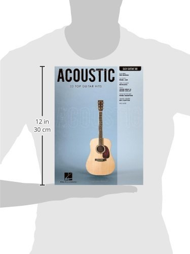 Acoustic: 33 Top Guitar Hits: 2 Easy Guitar With Notes & Tab ...