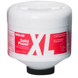 Zoom Supply Ecolab Solid Power XL GlassGuard, Industrial-Strength Ecolab Glass Guard Solid Power XL Spotless Detergent -- Don't Disgust Customers with Smears & Food Residue by Ecolab