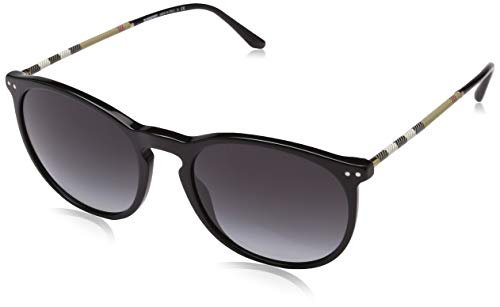 - Burberry Unisex 0BE4250Q Black/Grey Gradient One Size