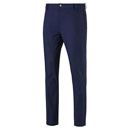 Puma Golf Men's 2019 Tailored Jackpot Pant, Peacoat, 32 x 30